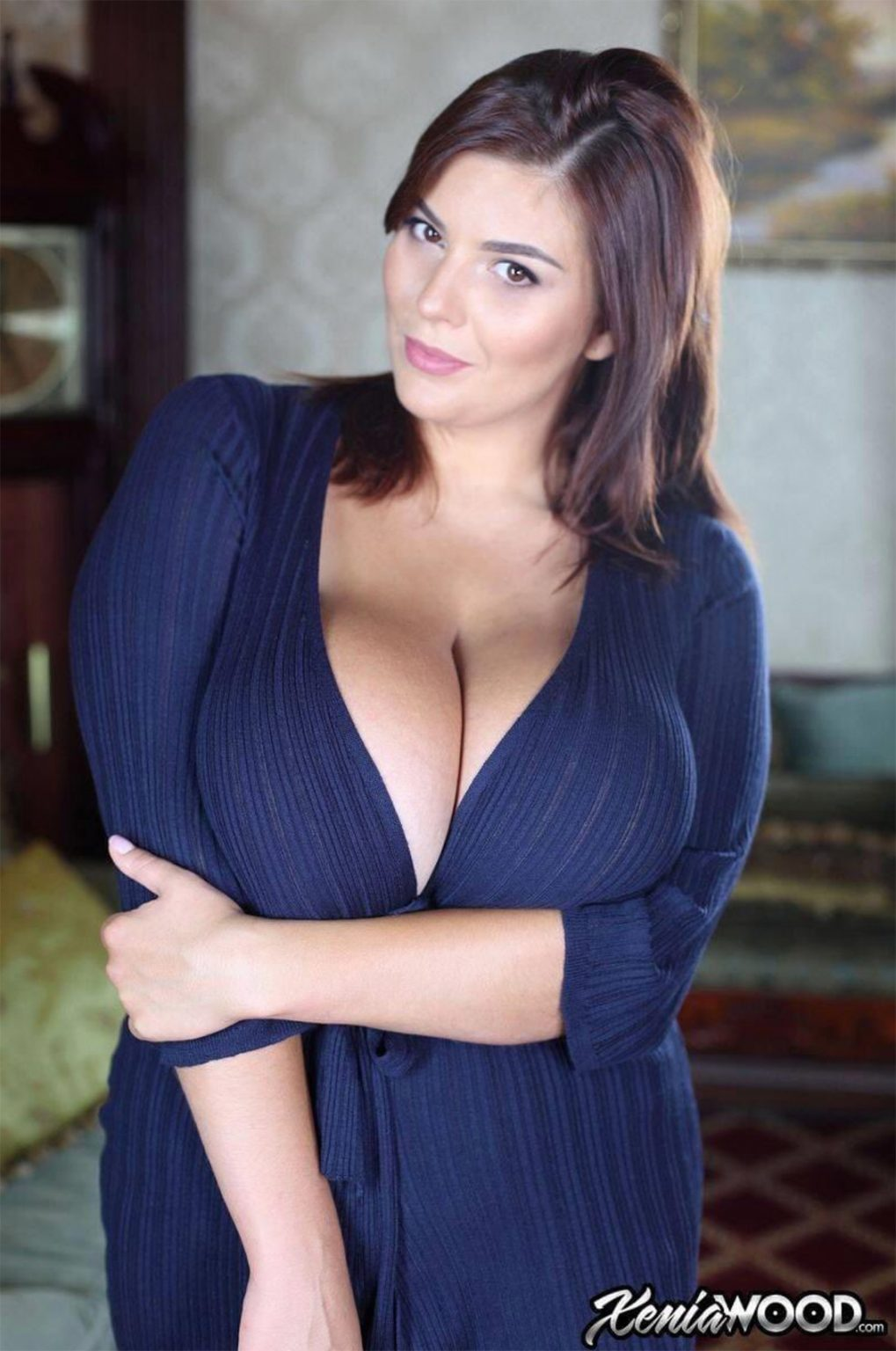 xenia-wood21 - Big Chested Models
